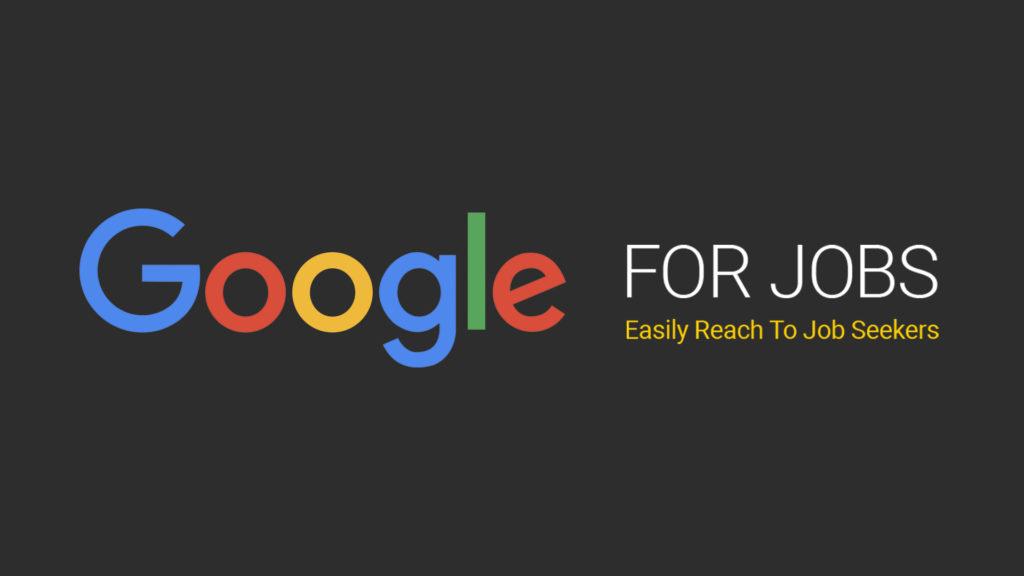 Stoom je bedrijf klaar voor Google for Jobs