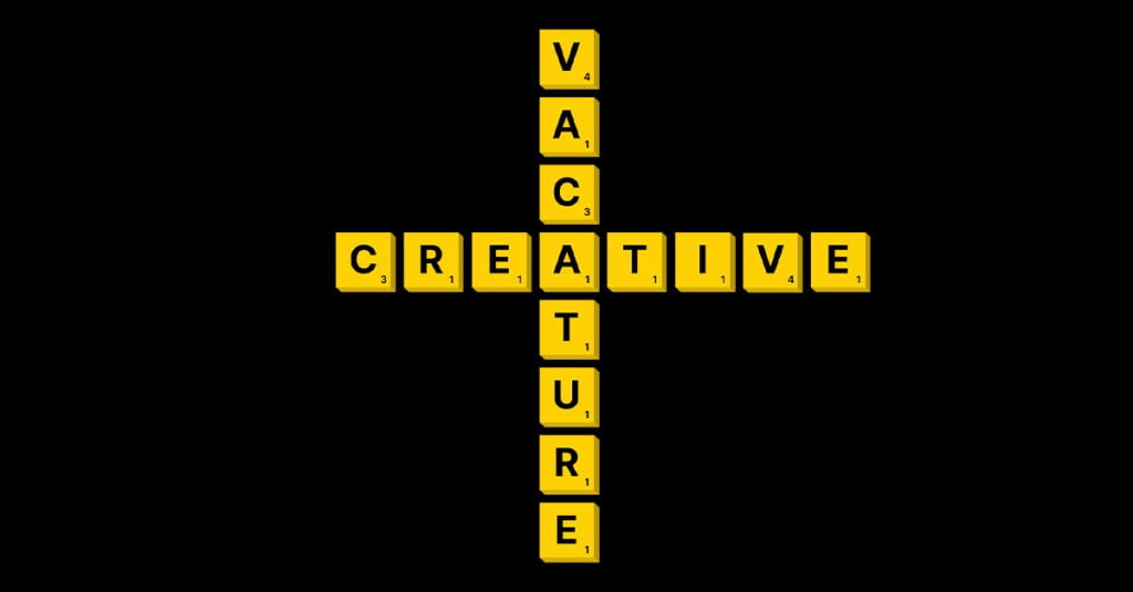 Vacature Creative